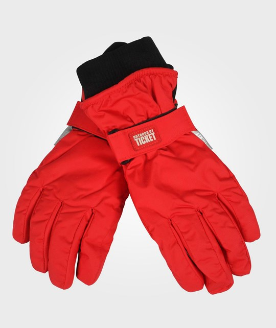 Ticket to heaven Mini Ribstop Gloves Red Red