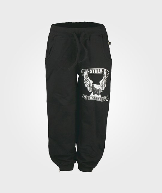 The BRAND B-Pant Washed Black Black