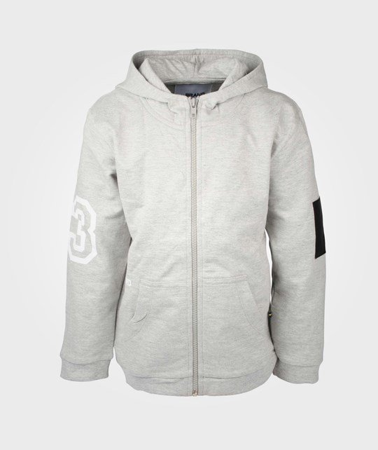 The BRAND B-Hood Grey Melange Grey