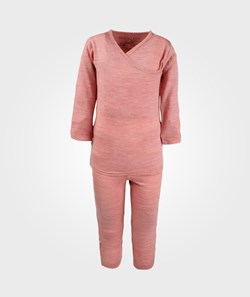 Merino Kids Essential Pyjamas Raspberry