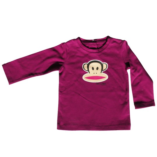 Paul Frank T-shirt L/S Julius Plum (small Purple