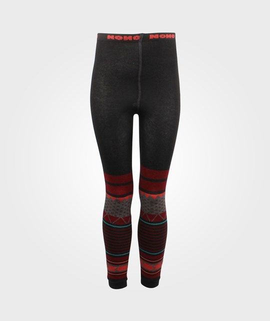 NONO Tights Soft Knitted Rio Red Red
