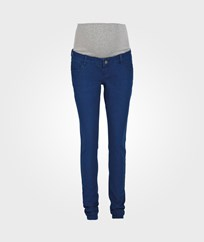 Mamalicious Shelly Slim Jeans Surf Blue