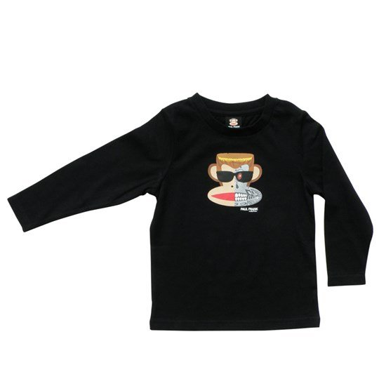 Paul Frank T-shirt L/S Julius Terminator Black