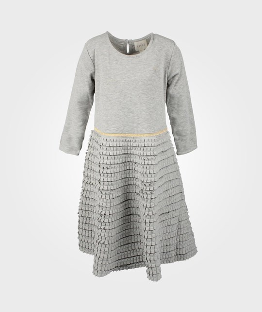 Livly Lisen Dress Grey/Gold Black