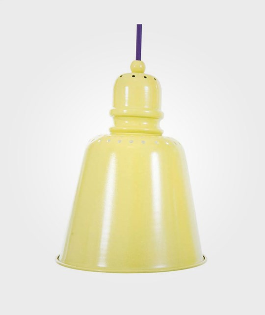 sebra Large Metal Lamp Yellow Yellow