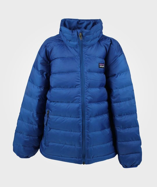 Patagonia Boys Down Sweater Blue Blue