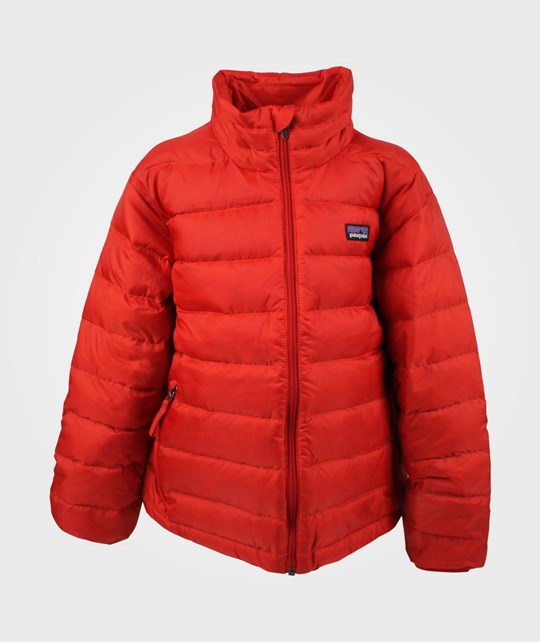 Patagonia Boys Down Sweater Red Wax Red