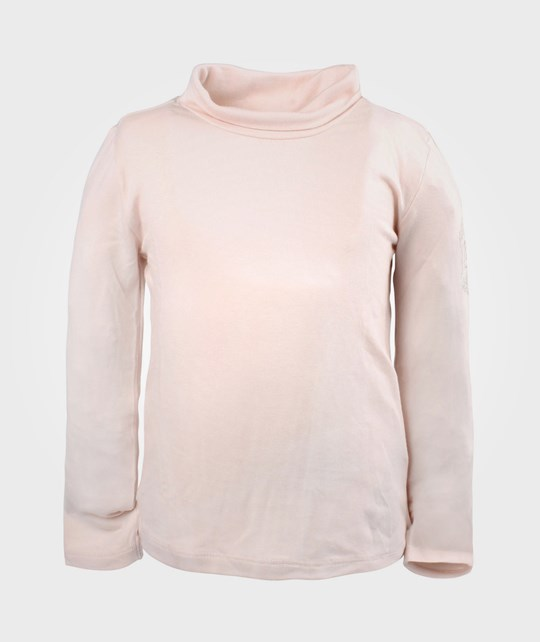 Guess LS T-shirt Powder Pink Solid Pink