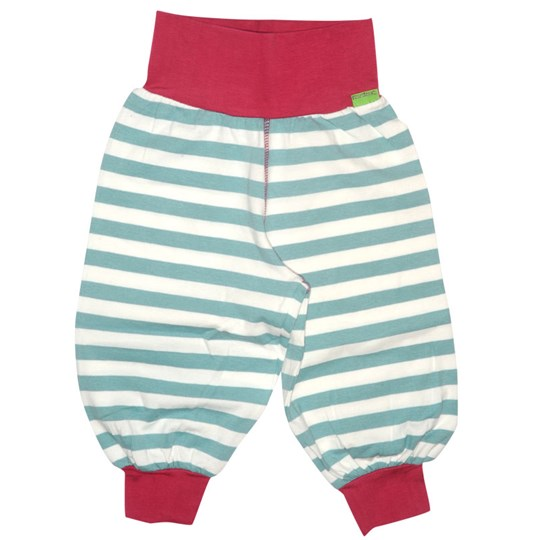 Plastisock Baby Trainer Pants Striped Tur Turquoise