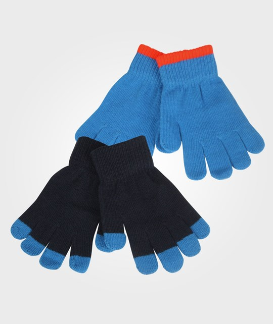 Molo Keio Mittens Electric Blue Blue