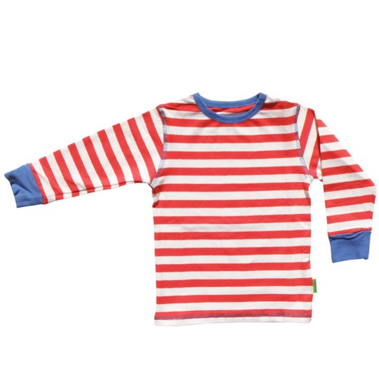 Plastisock T-shirt LS Fiery Red Red