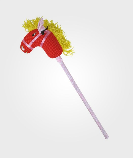 Rice Kids Hobby Horse Red Dots Red
