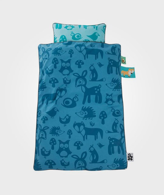 sebra Baby Bed Linen Forest Boy Blue