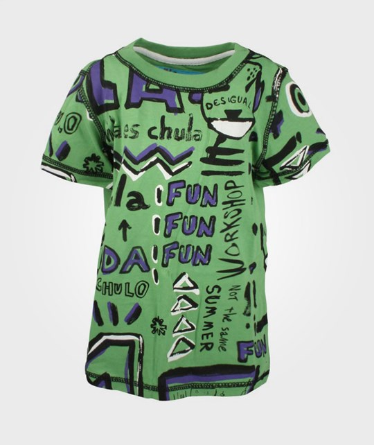 Desigual Ts Mohave Green Green