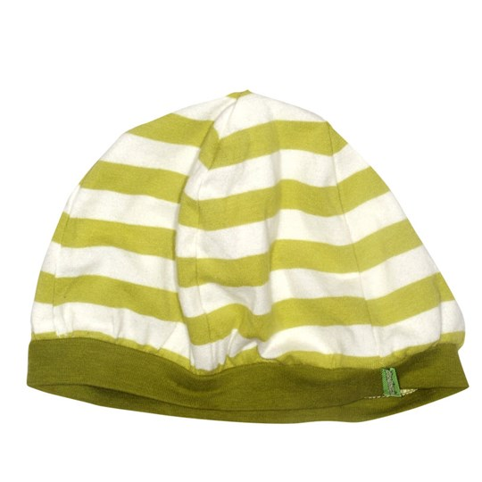 Plastisock Beret Striped Cap Oasis Green