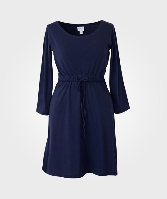 Boob N Tee Dress 3/4 Sleeve Navy Blue