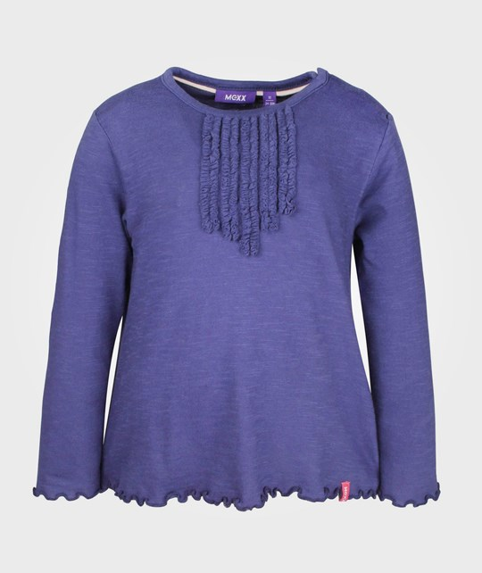 Mexx Mini Girls T-Shirt Blue Ribbon Blue