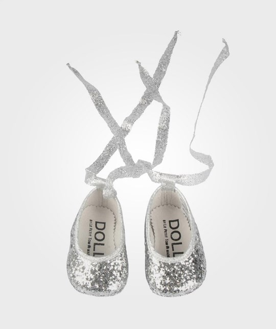 DOLLY by Le Petit Tom Baby Ballerina Silver Glitter Sort