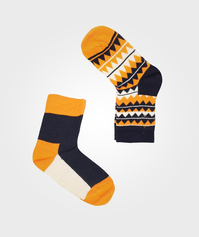 ZigZag Black/Orange 2-Pack