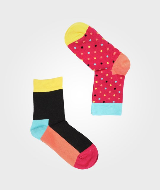 Happy Socks Small Dots Pink 2-Pack Pink