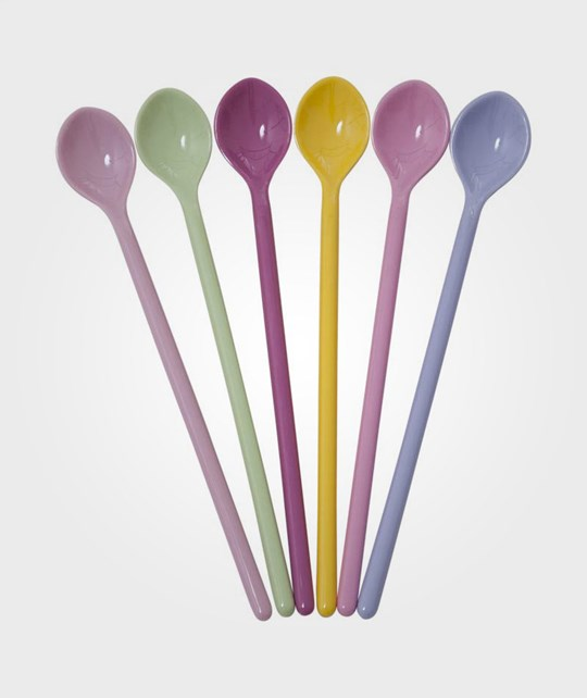 Rice Long Spoons 6 Girly Colors пестрый