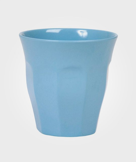 Rice Melamine Cup Turquoise Blue