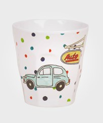 RICE A/S Kids Melamine Cup Vehicles Multi