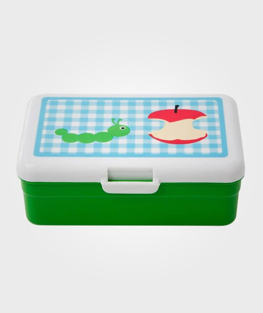 Rice Kids Lunch Box With Catepillar Green