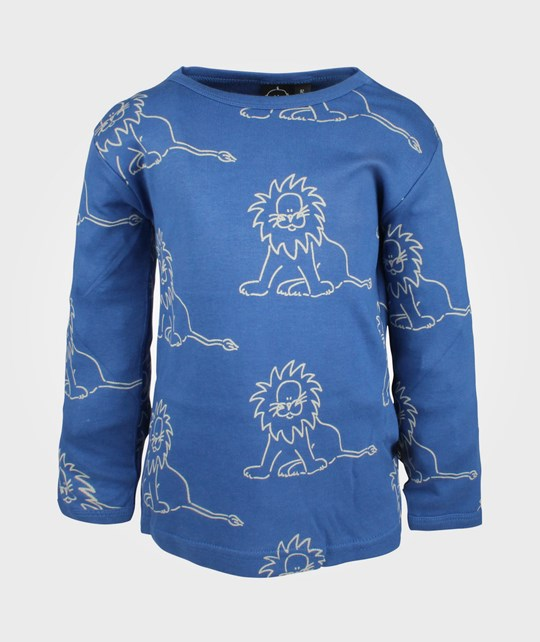 Ida T T-Shirt Blue Lion Blue