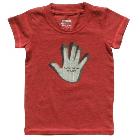 Imps & Elfs T-shirt Talk Pluto Love Red Me Red