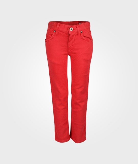 Replay Pants Boy Red Red