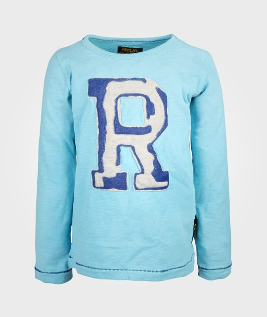 Replay T-Shirt Blue Blue
