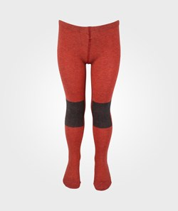 Bobo Choses Tights Patch Knee Contrast