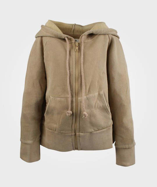 Bobo Choses Sweatshirt Hooded Junes Lulla Beige