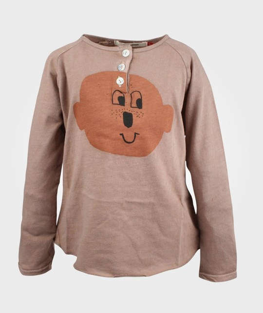 Bobo Choses T-shirt LS Bts Mr Song Rosa