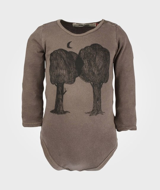 Bobo Choses Body LS Forest Tree Green