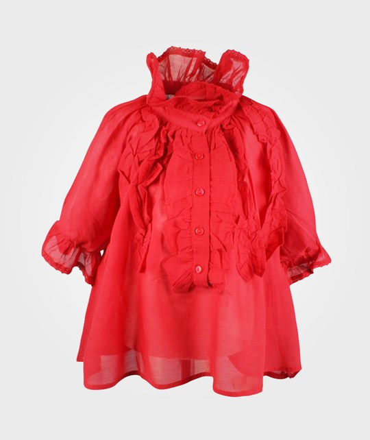 How To Kiss A Frog Mimosa Blouse Red Red