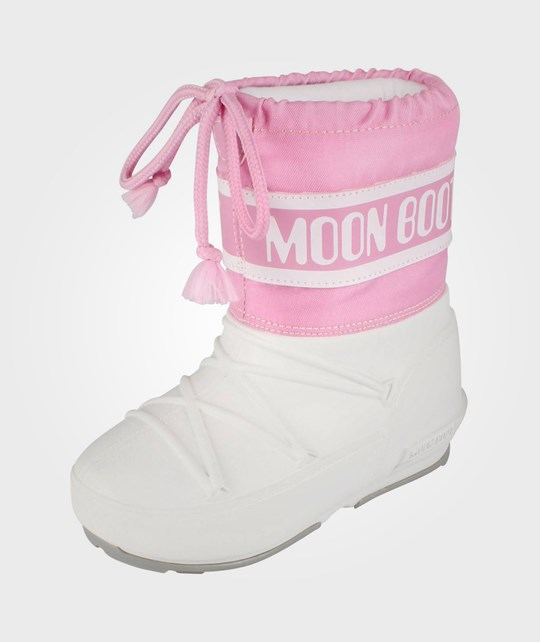 Moon Boot Moon Boot Pod Jr White/Pink Pink