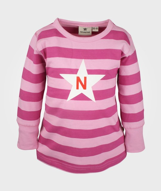 Nova Star Striped T Pink Pink