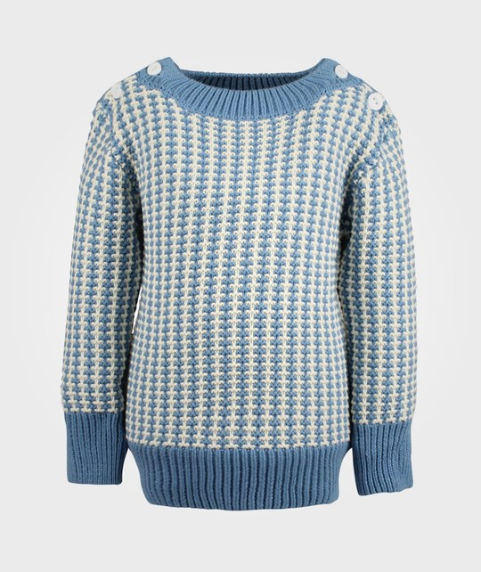 Rockefella Benny Knitted Sweater  Blue