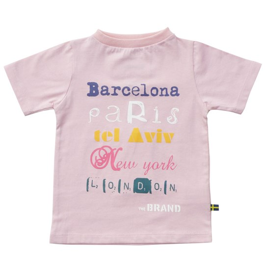 The BRAND Tee Cities Pink Pink