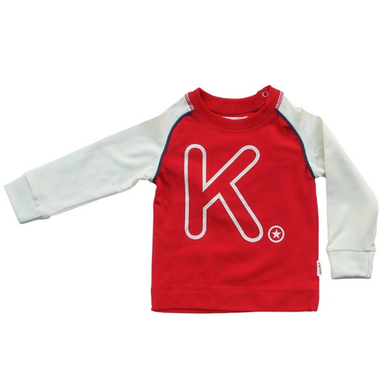 Kik Kid T-Shirt Jersey Red Red