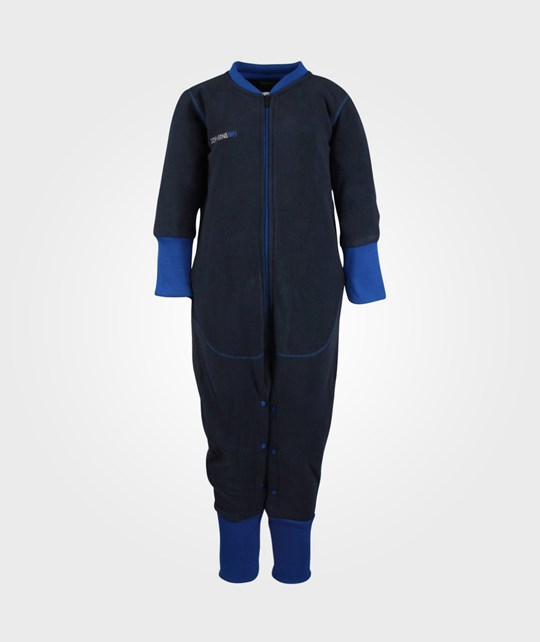 Didriksons Cariboo Kid Jumpsuit Navy Blue