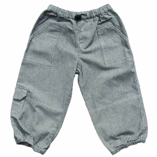 Wheat Trousers Front Pockets Navy Grey
