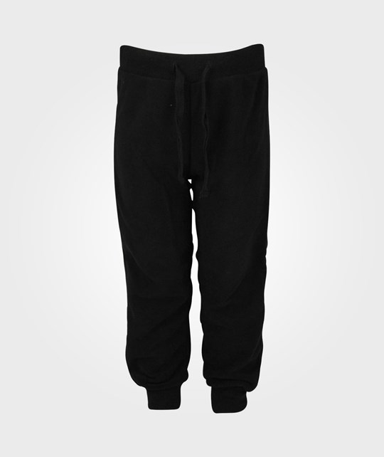 Mini Rodini Fleece Trouser Black Black