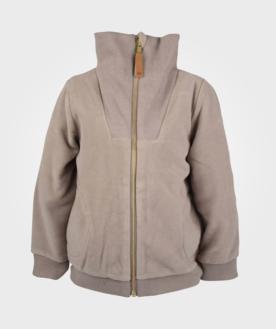 Mini Rodini Fleece Jacket Brown BROWN
