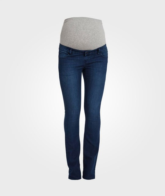 Mamalicious Shelly Bootcut Jeans Blue