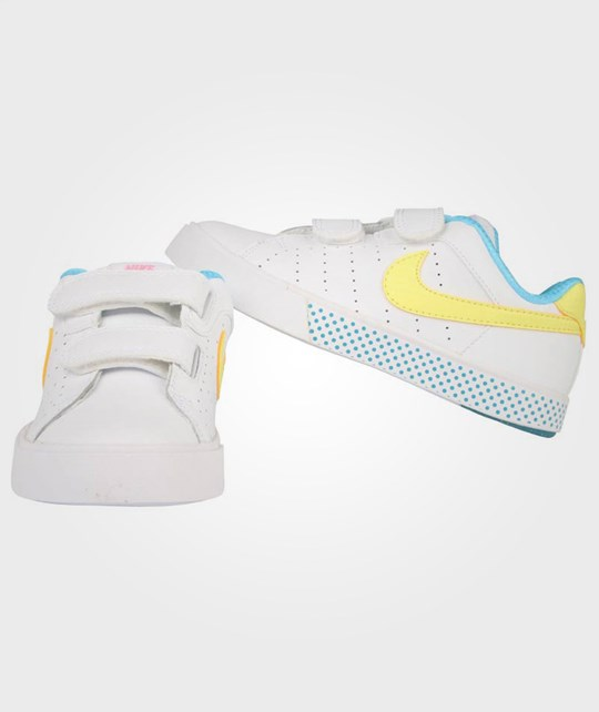 NIKE Court Tour (PSV) White Yellow White