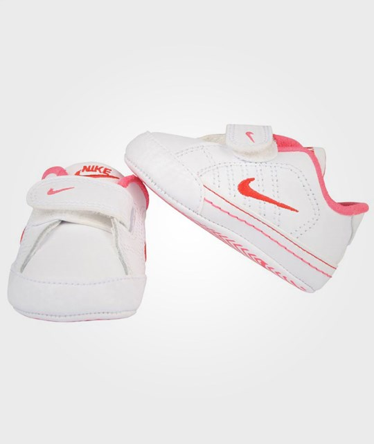 NIKE First Court Tradition Lea White-Pink Pink